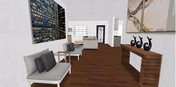 Online design Modern Hallway/Entry by Gargi K. thumbnail