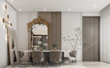 Online design Eclectic Dining Room by Zahra M. thumbnail