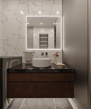 Online design Contemporary Bathroom by Edison X. thumbnail