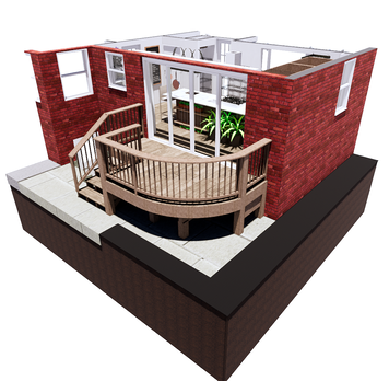 Online design Country/Cottage Patio by Nedith A. thumbnail