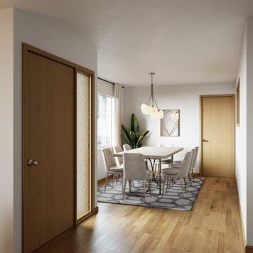 Online design Modern Dining Room by Farzaneh K. thumbnail