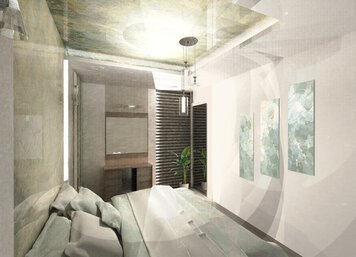 Online design Transitional Bedroom by Nazila A. thumbnail