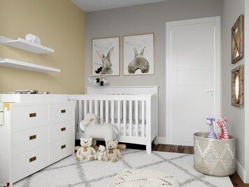 Online design Transitional Nursery by Lauren A. thumbnail