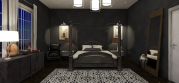 Online design Glamorous Bedroom by Mary B.  thumbnail