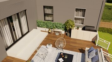 Online design Contemporary Patio by Janja R. thumbnail