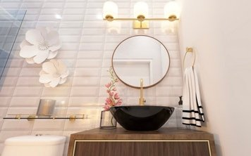 Online design Eclectic Bathroom by Chante F. thumbnail
