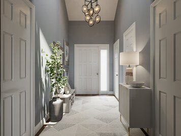 Online design Transitional Hallway/Entry by Casey H. thumbnail