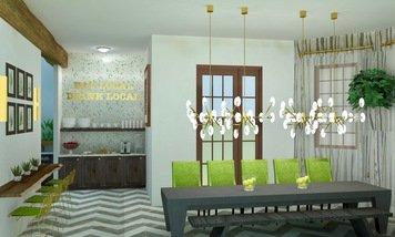 Online design Transitional Dining Room by Skyler G. thumbnail