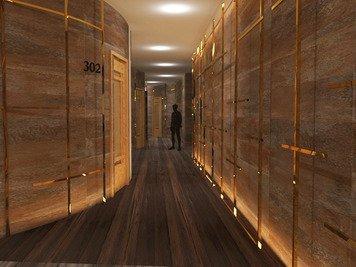 Online design Modern Hallway/Entry by Sara P. thumbnail