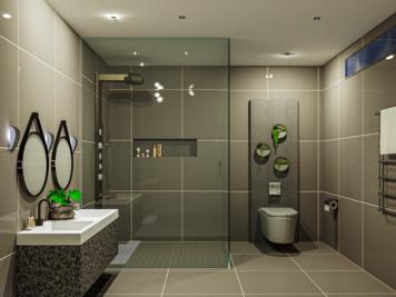 Online design Contemporary Bathroom by Mini G. thumbnail