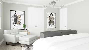 Online design Transitional Bedroom by Taron H. thumbnail