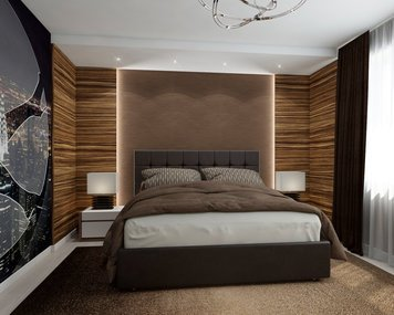 Online design Contemporary Bedroom by Luba K. thumbnail