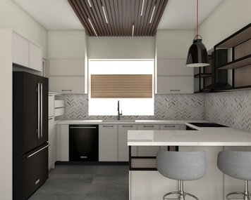 Online design Transitional Kitchen by Jessica S. thumbnail