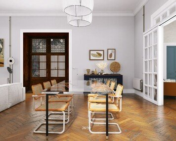 Online design Contemporary Combined Living/Dining by Jacky G. thumbnail