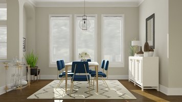 Online design Contemporary Dining Room by Katelin S. thumbnail
