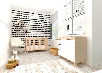 Online design Modern Kids Room by Ornela N. thumbnail