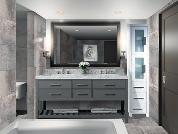 Online design Contemporary Bathroom by Pamela W. thumbnail