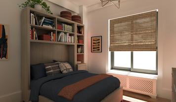 Online design Transitional Bedroom by Lindsay B. thumbnail