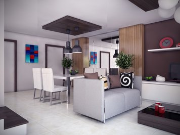 Online design Combined Living/Dining by Bobby D. thumbnail