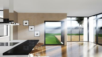 Online design Contemporary Combined Living/Dining by Muhammad H. thumbnail