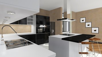 Online design Contemporary Kitchen by Muhammad H. thumbnail