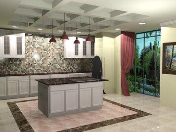 Online design Kitchen by Geny B. thumbnail