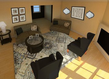 Online design Living Room by Alexis G. thumbnail