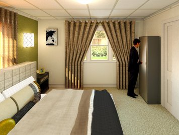 Online design Modern Bedroom by Alexis G. thumbnail