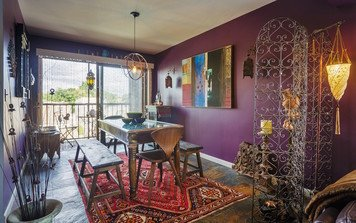 Online design Eclectic Combined Living/Dining by Jodi W. thumbnail