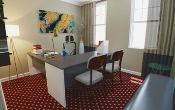 Online design Transitional Business/Office by Jodi W. thumbnail