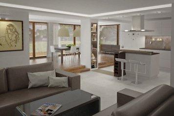 Online design Modern Living Room by Kinga P thumbnail