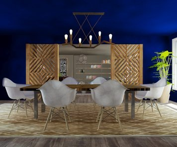 Online design Dining Room by Cristina R. thumbnail