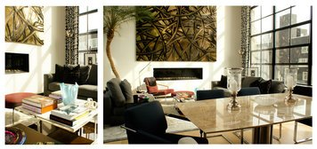 Online design Modern Combined Living/Dining by Renata G. thumbnail
