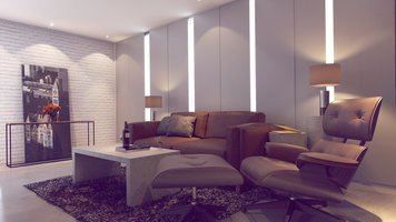 Online design Modern Living Room by Mladen C thumbnail