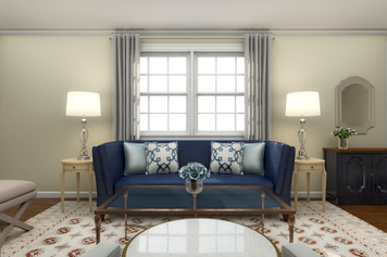 Online design Transitional Living Room by Narathas P. thumbnail