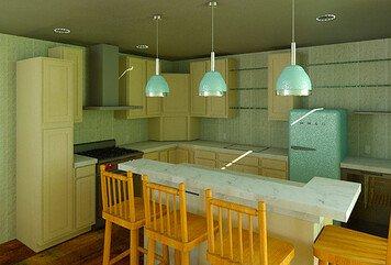 Online design Transitional Kitchen by Linnea T thumbnail