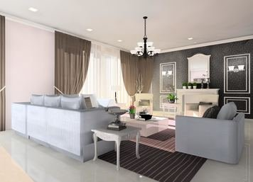 Online design Living Room by Nor Aina B. thumbnail