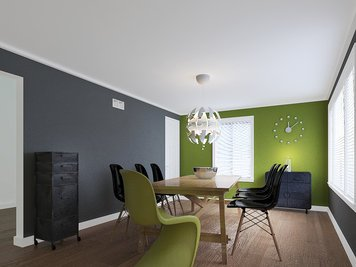 Online design Modern Living Room by Hannah D. thumbnail