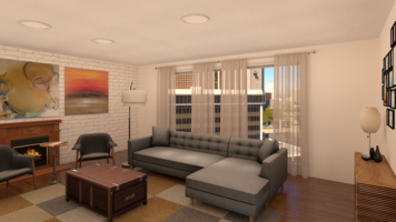 Online design Transitional Living Room by Alberthe B. thumbnail