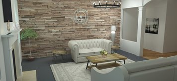 Online design Country/Cottage Living Room by Merry M. thumbnail