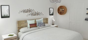 Online design Country/Cottage Bedroom by Merry M. thumbnail