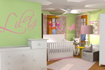 Online design Country/Cottage Kids Room by Rebecca MC thumbnail