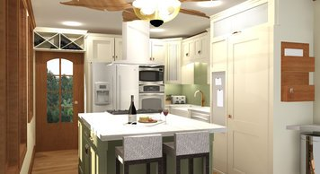 Online design Contemporary Kitchen by Rebecca MC thumbnail