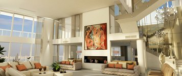 Online design Contemporary Living Room by Robiel H. thumbnail