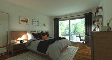 Online design Modern Bedroom by MayKan C. thumbnail