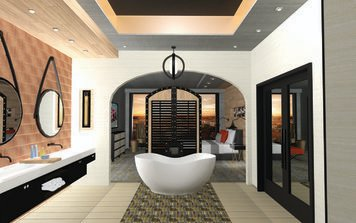 Online design Transitional Bathroom by Anny T. thumbnail