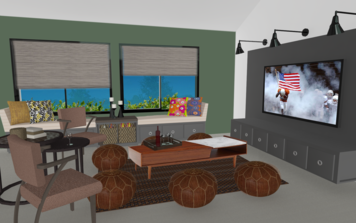 Online design Eclectic Living Room by Anny T. thumbnail