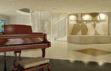 Online design Contemporary Hallway/Entry by Nour M. thumbnail
