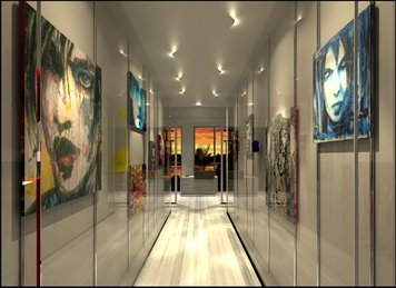 Online design Contemporary Hallway/Entry by Gaia G. thumbnail