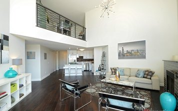 Online design Contemporary Living Room by Rachel H. thumbnail
